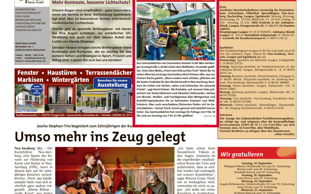 Stadtpost Neu-Isenburg, 17.09.2020