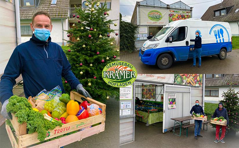 Weihnachtliche Spendenaktion für die Frankfurter Tafel